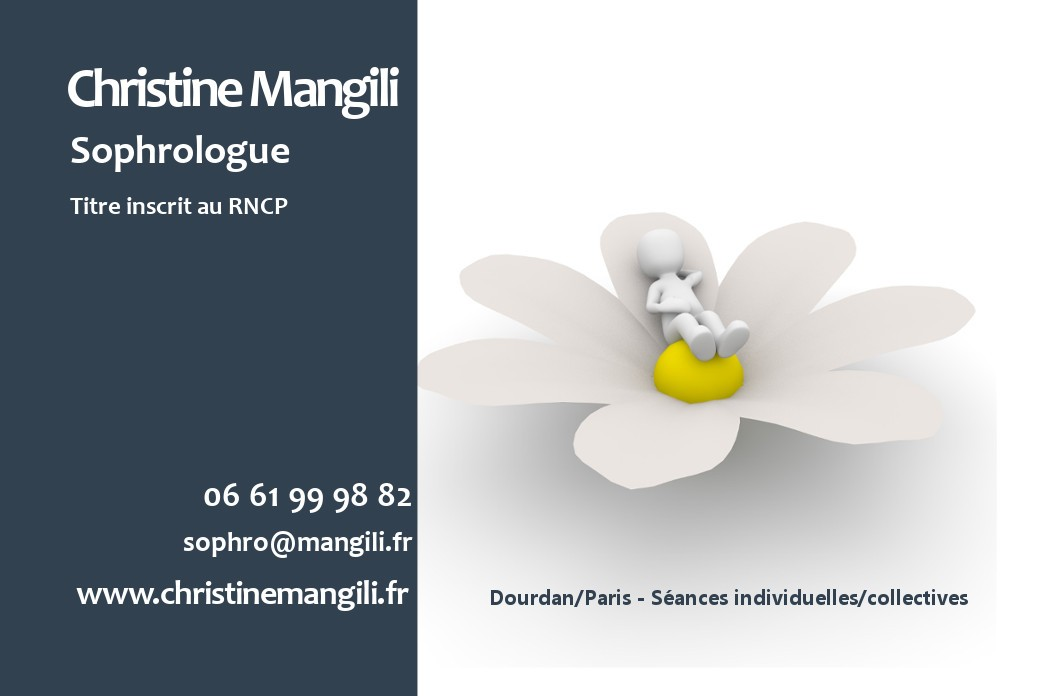 Christine Mangili Sophrologue